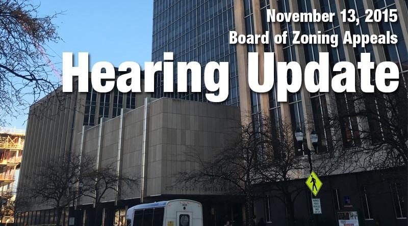 20151110 Hearing Update